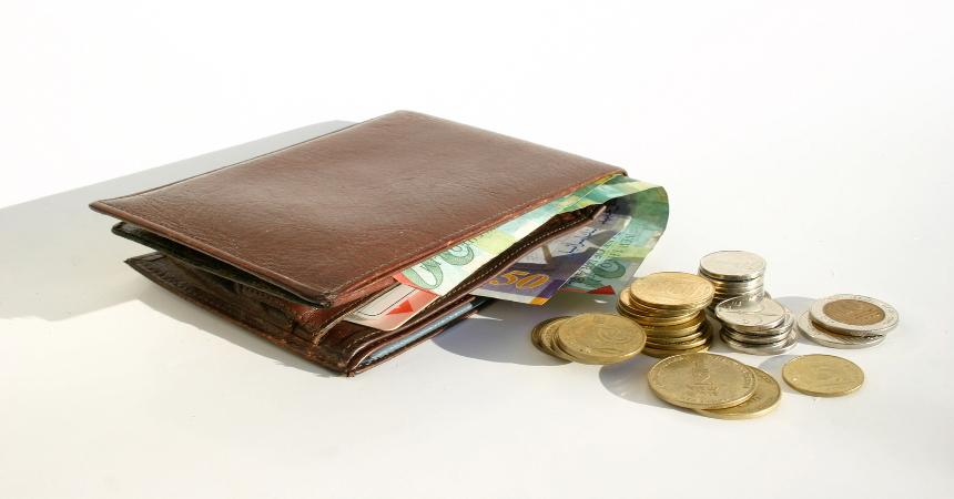 pieniądze portfel